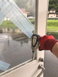 飯塚市のガラス交換(会社・工場・店舗ガラス)