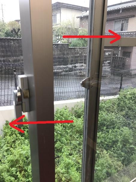 引違い窓の内障子、外障子を入れ替える